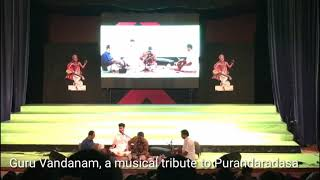 Guru Vandanam, a tribute to Indian composer Purandaradasa