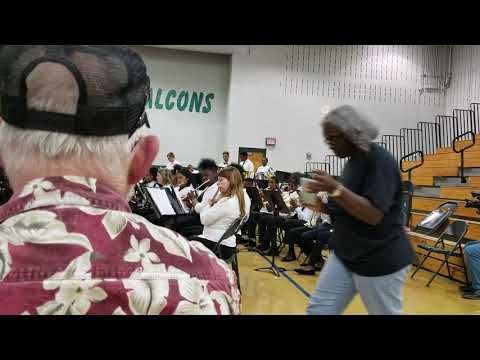 James Council Conducts Chestnut Oaks Middle School Band