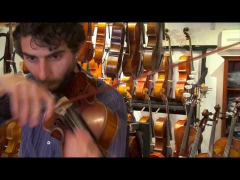 Amati Mangenot Violin Demonstration