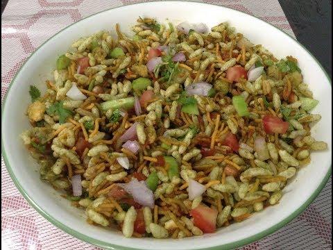 ബേല് പുരി / Bhel Puri Chat Recipe In Malayalam / Street Food Of India