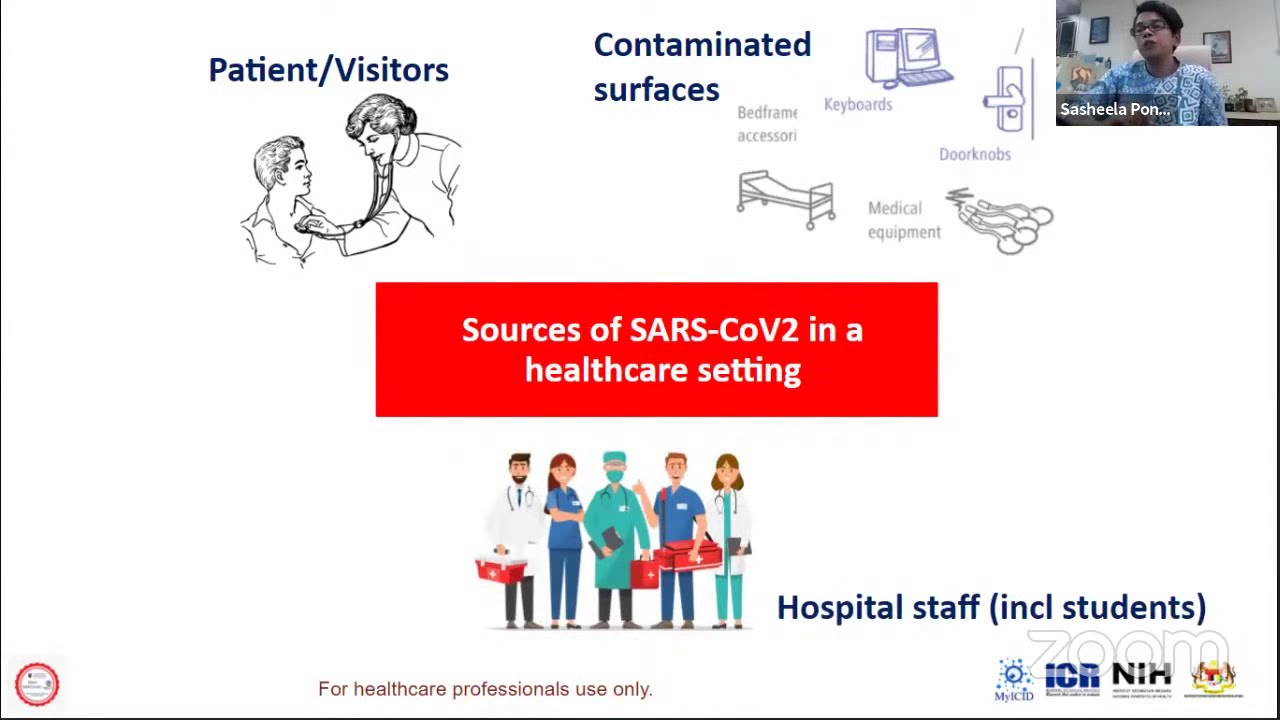 Webinar Series of COVID-19: Infection Prevention And Control In COVID-19 Wards