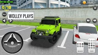Parking Frenzy Simulator 3D Part #2 - (by Games2win) Android Gameplay | Racing Cars Videos For Kids