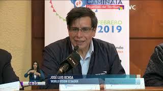 Reportaje TVC: Caminata Huellas de Ternura llega a Ecuador