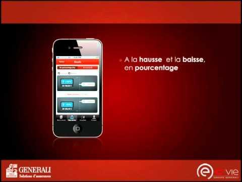 Application iPhone iGenerali : votre assurance vie en mobilité