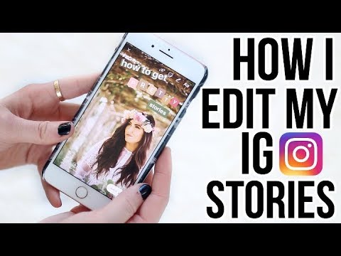 IG STORY TIPS & TRICKS: How I Edit My Insta Stories || Sarah Belle