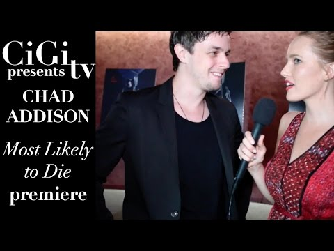 "Chad Addison Interview at ""Most Likely to Die"" Premiere"