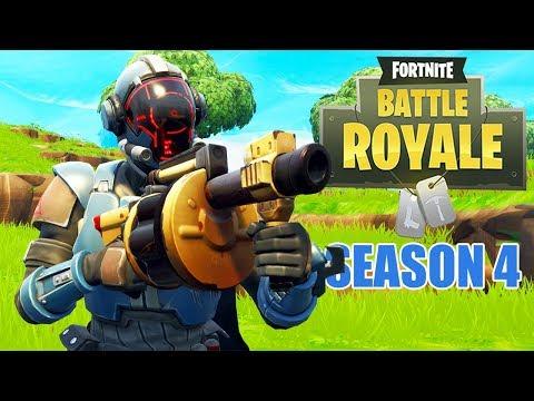 Week 8 Challenges - Fortnite Batle Royale Gameplay - Season 4 - Xbox One X - Solo