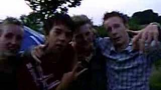 Joey,Rowan,Felix,Kevin Camping rozenhof 2007