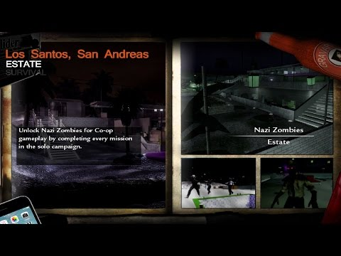 Call of Duty WaW Nazi Zombies Estate of the Dead
