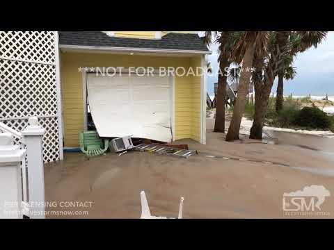 9-13-18 North Topsail Beach, NC - Significant Waves/Surge - Damage