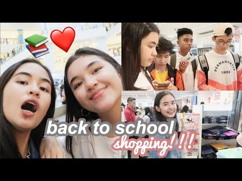 Back-to-School Shopping 2018! (Philippines) | Princess And Nicole