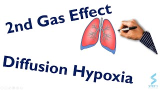 2nd Gas Effect and Diffusion Hypoxia in 20 Minutes| STEP NCLEX COMLEX