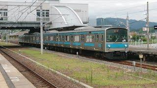 JR西日本205系NE406編成 木津発車