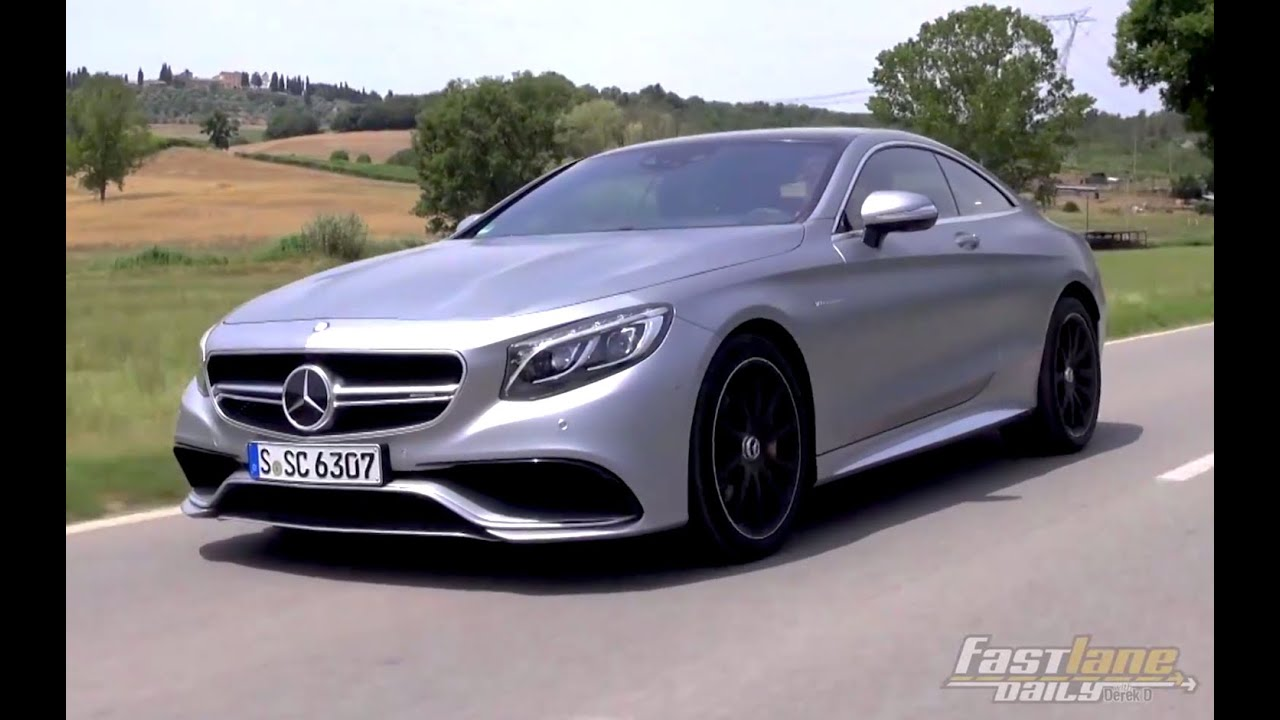2015 MercedesBenz S63 AMG Coupe Review  Fast Lane Daily  YouTube