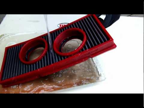 BMC Air Filters cleaning procedure