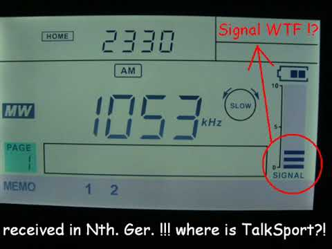 1053 kHz - National Radio Libya 1053 AM, Tripoli (Libya)