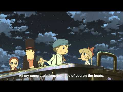 Professor Layton and the Eternal Diva (Full Movie) [Japanese Dub, English Subtitles]