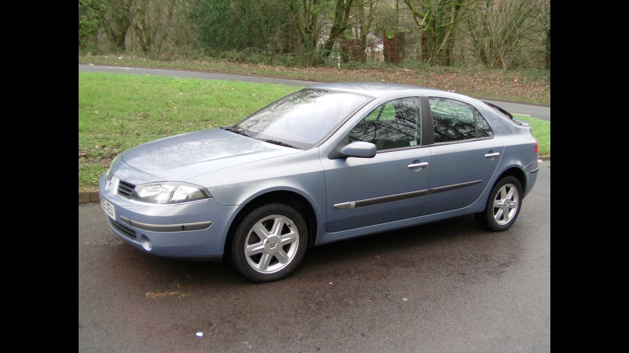 2005 renault laguna 1 9 dci 120 dynamique 60k fsh youtube. Black Bedroom Furniture Sets. Home Design Ideas