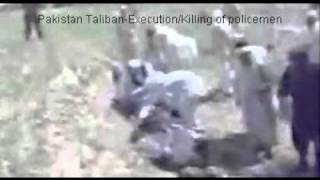 vuclip Taliban Killing 16-17 Policemen - as seen in CNN/BBC + various online channel