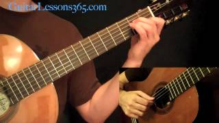 Is There Anybody Out There Guitar Lesson & Performance - Pink Floyd