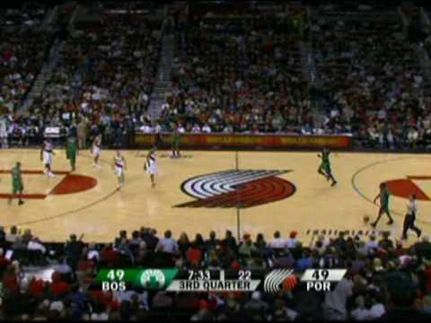 Greg Oden vs the Boston Celtics