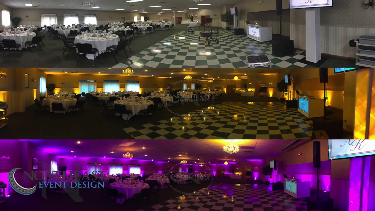 maine wedding dj setup timelapse spectacular events center