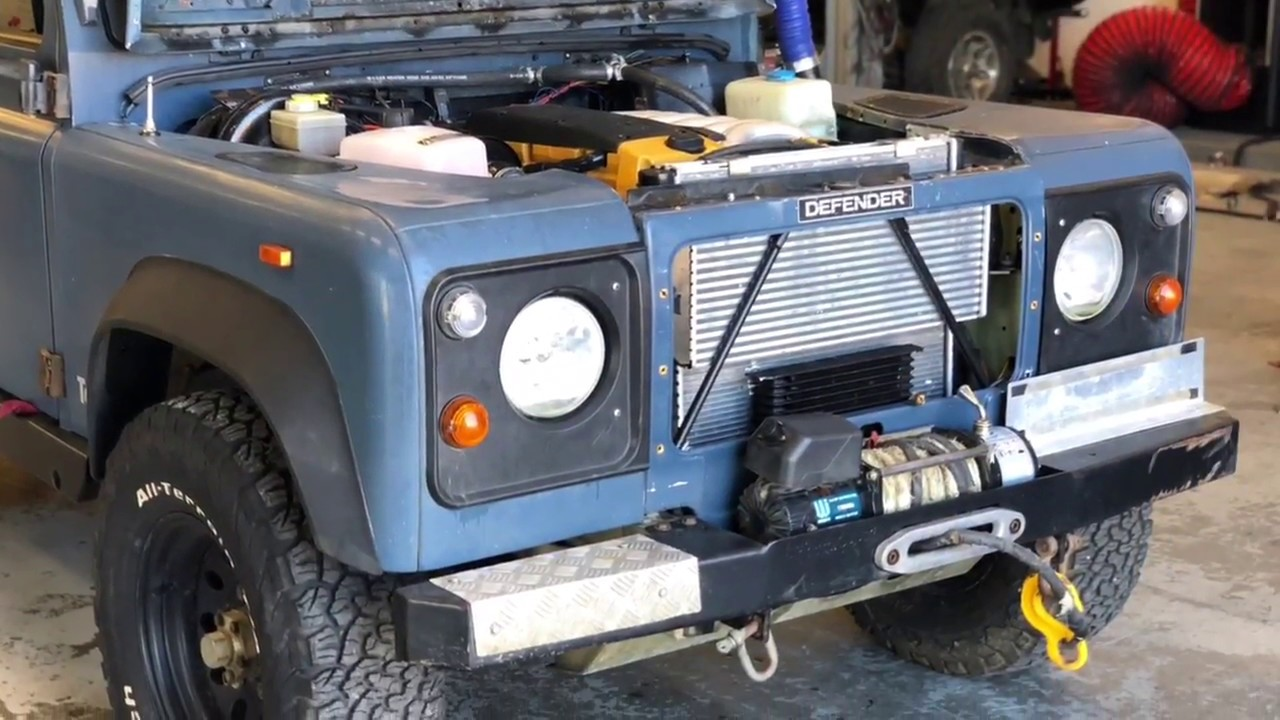 Om606 TURBO Landrover Defender (SOUNDS AWSOME)