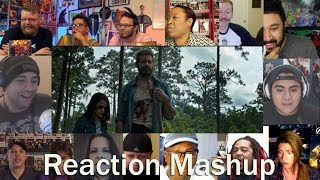 Logan   official trailer reaction mashup