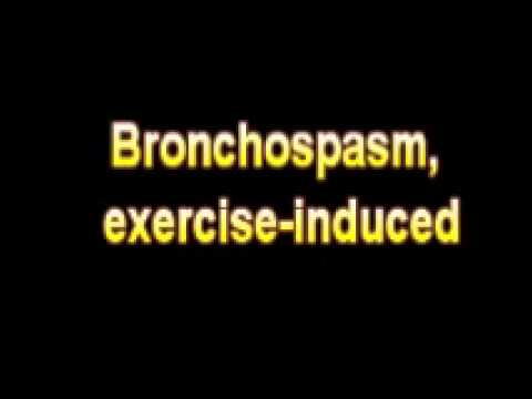 What Is The Definition Of Bronchospasm, exercise induced Medical Dictionary Free Online