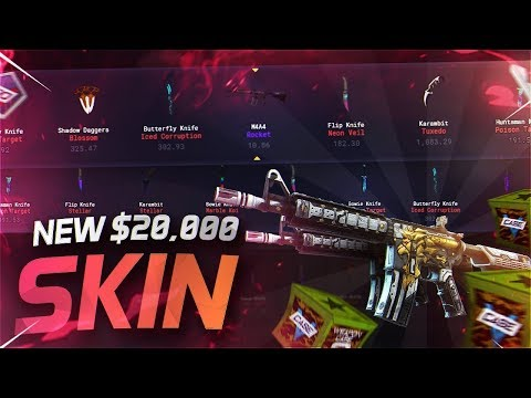 NEW 20000$ VGO SKIN UNBOXING?! WEAPON CASE 3 RELEASED!