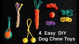 Dog Toy DIY_1 How To Make Chew Toys For Your Dog, Stop biting furnitures !!