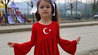 İstiklal Marşını guzel okuma yarışmasında Ordu 4. sü olan Sehle ÖZTÜRK herkesi büyüledi...03.03.2017