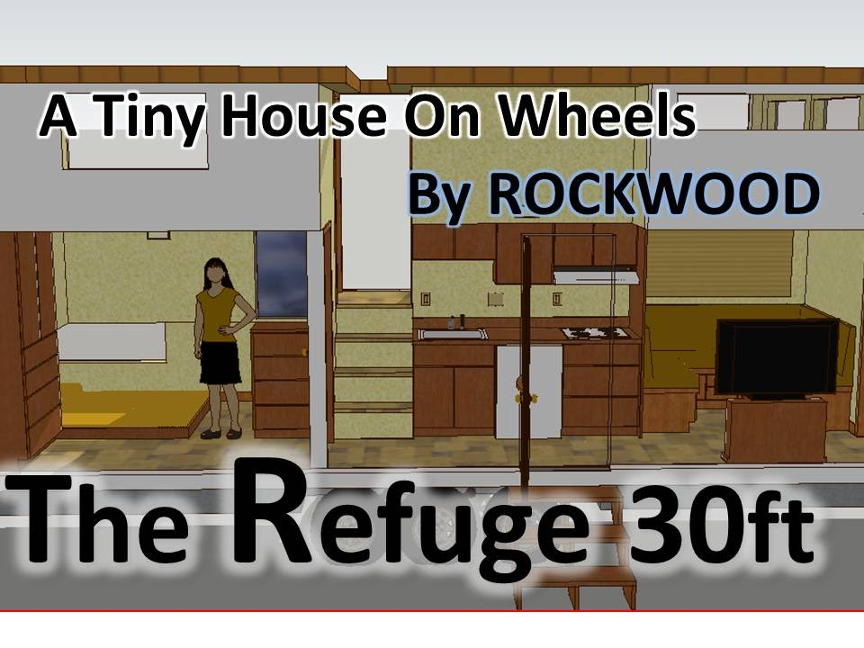 3 Fullsize Bedroom Tiny House The Refuge 30 Ft Design