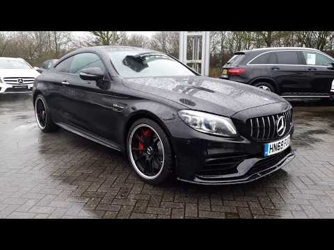 Mercedes-AMG C63S Coupe Premium Plus (With V8 Engine Revs) - HN69FUO - NOW SOLD