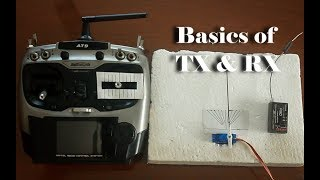 Basics of Transmitter & Receiver for RC Plane ( Dual Rate & Expo )