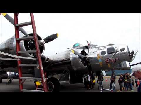 "Boeing B-17G ""Sentimental Journey"" at University Park Airport"