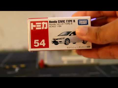 Tomica #54 Honda Civic Type R FD2 Unboxing
