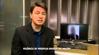 Mc Melody -  é alvo de pedófilo  Reportagem Na (Rede Record) No Programa Balanço Geral - 19/05 /15