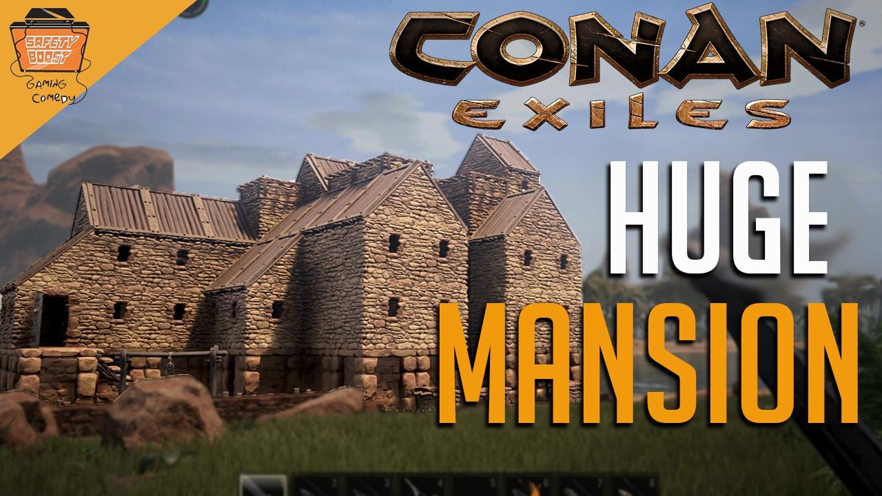 conan exiles how to break walls