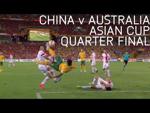 China v Australia - 2015 Asian Cup Quarter Final - Full Match