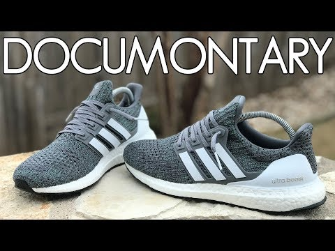 best sneakers 95542 71421 Boosted Stripes + Adidas Ultra Boost 4.0 Grey Four ...