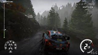 WRC 9 FIA World Rally Championship - Rain Gameplay (PC HD) [1080p60FPS]