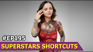 Christina Ricci Public Appearance and Interview | Hollywood Star |Superstars Shortcuts Ep 195