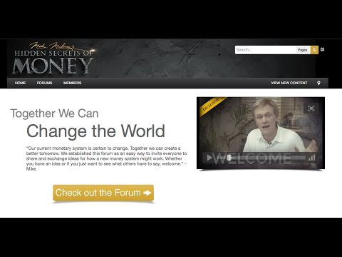 Is Bitcoin The Answer? Mike Maloney's Forum For A Monetary Solution