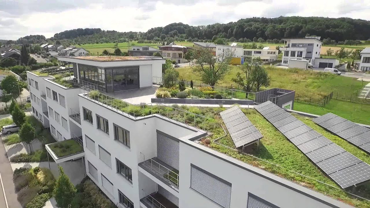 Green roof systems this building shows the full range for House roof construction