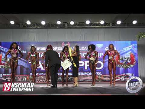 Figure Awards | 2019 IFBB Tampa Pro