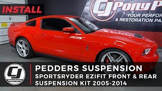 Mustang Install: Pedders Sportsryder Ezifit Front And Rear Suspension Kit