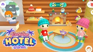 Vacation Hotel Stories | Toddlers Game #5 (Android Gameplay) | Cute...