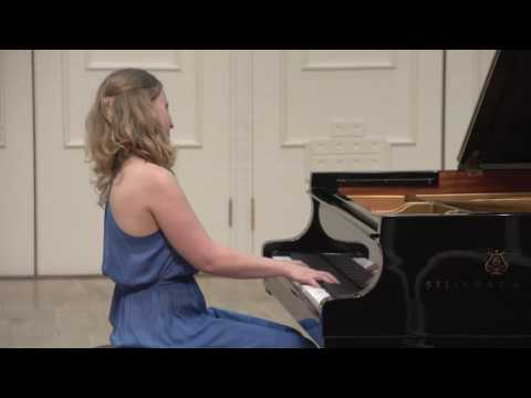 Brahms Variations on a Theme by Paganini (performed by Polina Kulikova)