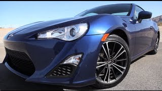 2013 Scion FR-S Street Test Review